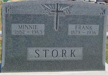 STORK, FRANK & MINNIE - Carroll County, Iowa | FRANK & MINNIE STORK