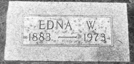 STRATEMEYER, EDNA W. - Carroll County, Iowa | EDNA W. STRATEMEYER