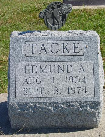 TACKE, EDMUND A. - Carroll County, Iowa | EDMUND A. TACKE