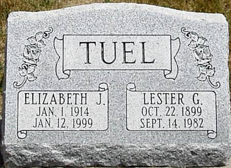 TUEL, ELIZABETH JANE - Carroll County, Iowa | ELIZABETH JANE TUEL