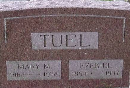 TUEL, MARY M. - Carroll County, Iowa | MARY M. TUEL