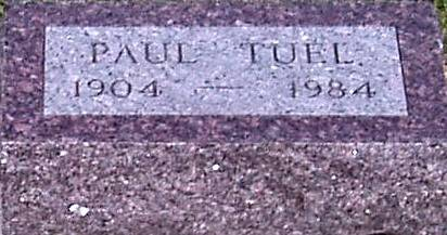 TUEL, PAUL - Carroll County, Iowa | PAUL TUEL