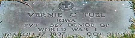 TUEL, VERNIE C. - Carroll County, Iowa | VERNIE C. TUEL
