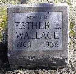 SURBER WALLACE, ESTHER E. - Carroll County, Iowa | ESTHER E. SURBER WALLACE