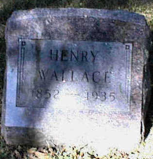 WALLACE, HENRY - Carroll County, Iowa | HENRY WALLACE