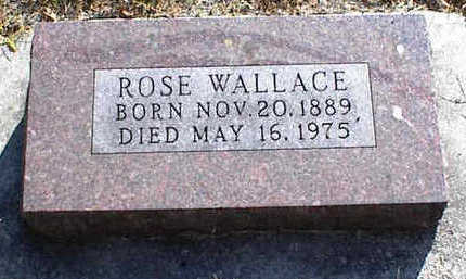 WALLACE, ROSE - Carroll County, Iowa | ROSE WALLACE