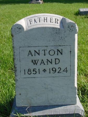WAND, ANTON - Carroll County, Iowa | ANTON WAND