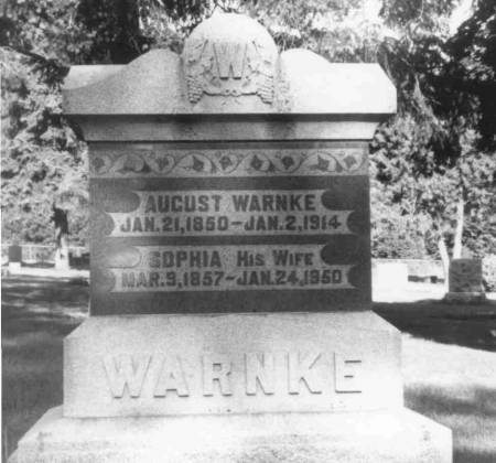 WARNKE, AUGUST - Carroll County, Iowa | AUGUST WARNKE 