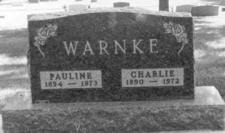 WARNKE, PAULINE - Carroll County, Iowa | PAULINE WARNKE