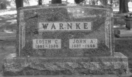 WARNKE, EDITH C. - Carroll County, Iowa | EDITH C. WARNKE