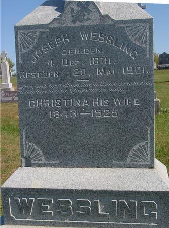 WESSLING, JOSEPH - Carroll County, Iowa | JOSEPH WESSLING