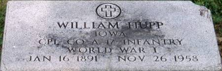 HUPP, WILLIAM - Carroll County, Iowa | WILLIAM HUPP