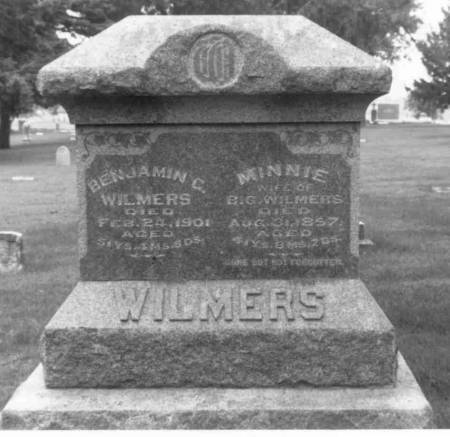 BRASS WILMERS, MINNIE - Carroll County, Iowa | MINNIE BRASS WILMERS