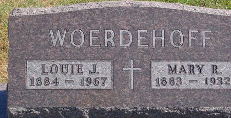 WOERDEHOFF, LOUIE & MARY - Carroll County, Iowa | LOUIE & MARY WOERDEHOFF