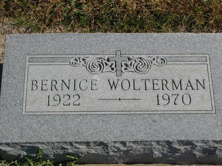 WOLTERMAN, BERNICE - Carroll County, Iowa   BERNICE WOLTERMAN