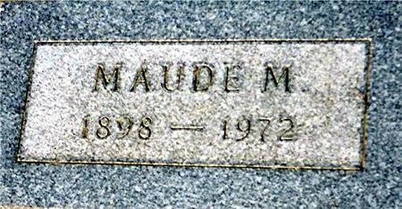 BROWN BECKER, MAUDE - Cass County, Iowa | MAUDE BROWN BECKER