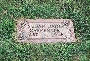 CARPENTER, SUSAN JANE - Cass County, Iowa | SUSAN JANE CARPENTER