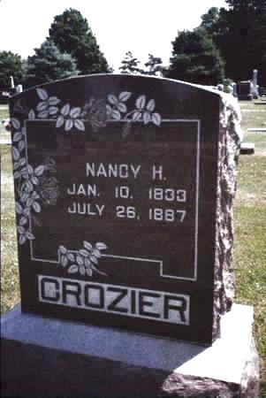 CROZIER, NANCY - Cass County, Iowa | NANCY CROZIER