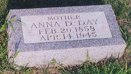 DAY, ANNA - Cass County, Iowa | ANNA DAY