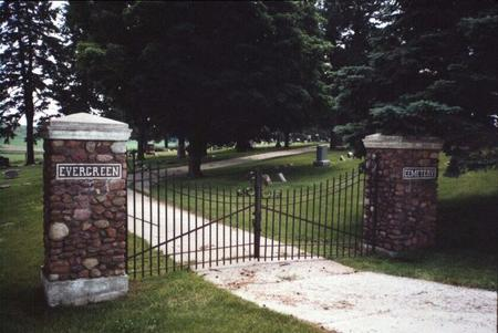 EVERGREEN, CEMETERY - Cass County, Iowa | CEMETERY EVERGREEN