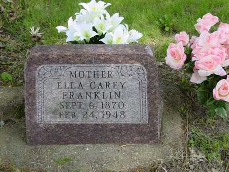 FRANKLIN, ELLA CAREY - Cass County, Iowa | ELLA CAREY FRANKLIN