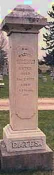 GATES, ISAAC BRUNSON - Cass County, Iowa | ISAAC BRUNSON GATES