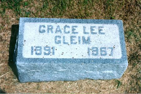 GLEIM, GRACE - Cass County, Iowa | GRACE GLEIM