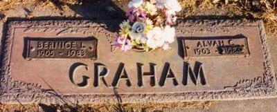 GRAHAM, BERNICE LOUISE - Cass County, Iowa | BERNICE LOUISE GRAHAM