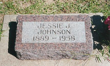 JOHNSON, JESSIE - Cass County, Iowa | JESSIE JOHNSON