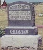 KUESEL, FREDERICK - Cass County, Iowa | FREDERICK KUESEL