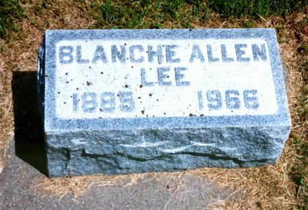 LEE, BLANCHE - Cass County, Iowa | BLANCHE LEE