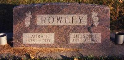 CONKLIN ROWLEY, LAURA EFFIE - Cass County, Iowa | LAURA EFFIE CONKLIN ROWLEY