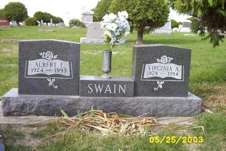SWAIN, ALBERT - Cass County, Iowa | ALBERT SWAIN
