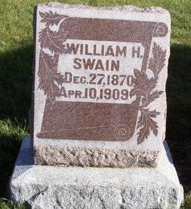 SWAIN, WILLIAM - Cass County, Iowa | WILLIAM SWAIN