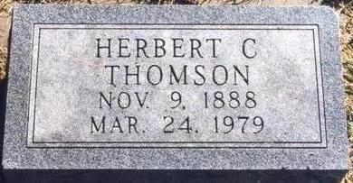 THOMSON, HERBERT  C - Cass County, Iowa | HERBERT  C THOMSON