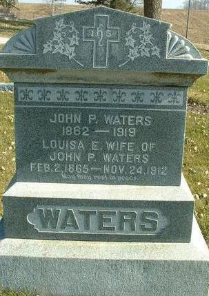WATERS, LOUISA E. - Cass County, Iowa | LOUISA E. WATERS