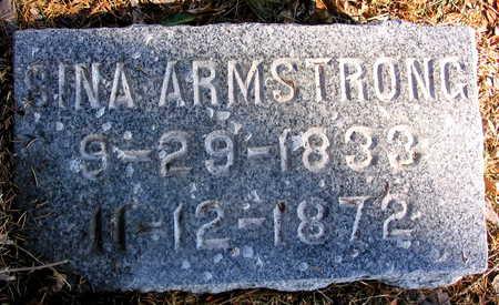 ARMSTRONG, SINA - Cedar County, Iowa | SINA ARMSTRONG
