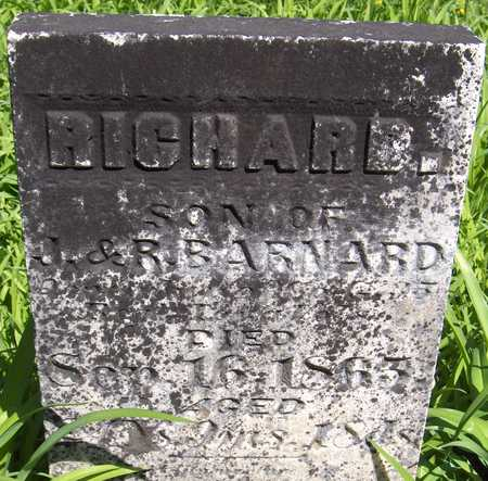 BARNARD, RICHARD - Cedar County, Iowa | RICHARD BARNARD