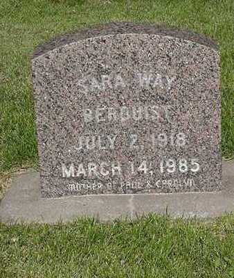 BERQUIST, SARAH - Cedar County, Iowa | SARAH BERQUIST
