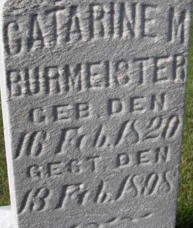 BURMEISTER, CATHARINE M. - Cedar County, Iowa | CATHARINE M. BURMEISTER