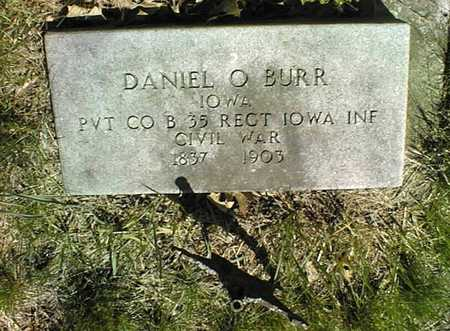 BURR, DAVID O. - Cedar County, Iowa | DAVID O. BURR