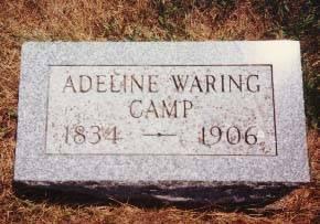 CAMP, ADELINE WARING - Cedar County, Iowa | ADELINE WARING CAMP