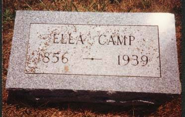 CAMP, ELLA - Cedar County, Iowa | ELLA CAMP