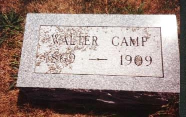 CAMP, WALTER - Cedar County, Iowa | WALTER CAMP