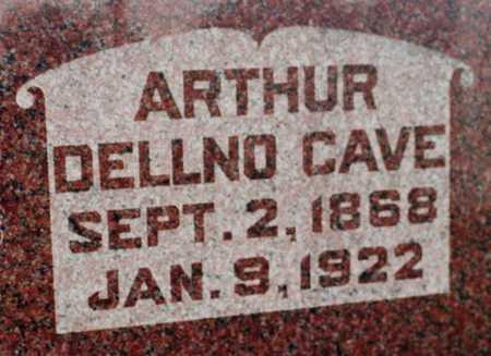 CAVE, ARTHUR DELNO - Cedar County, Iowa | ARTHUR DELNO CAVE