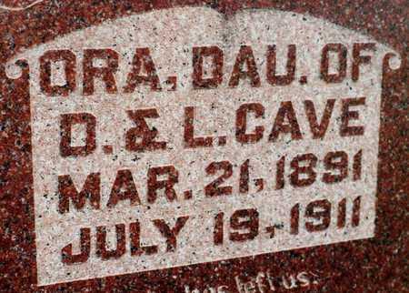 CAVE, ORA - Cedar County, Iowa | ORA CAVE