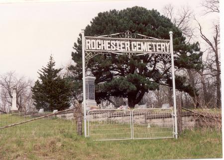 ROCHESTER, CEMETERY - Cedar County, Iowa | CEMETERY ROCHESTER