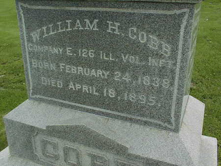 COBB, WILLIAM H. - Cedar County, Iowa | WILLIAM H. COBB