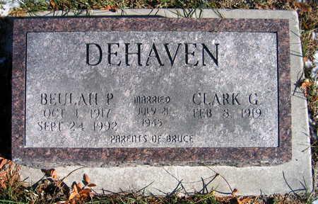 DEHAVEN, BEULAH P. - Cedar County, Iowa | BEULAH P. DEHAVEN