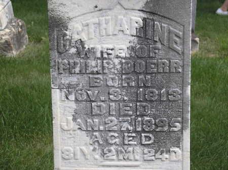HARIGHMAN DOERR, CATHARINE - Cedar County, Iowa | CATHARINE HARIGHMAN DOERR
